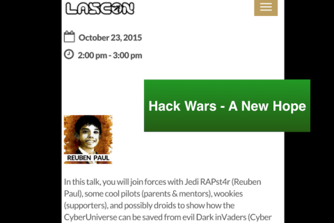 Hack Wars : A New Hope – LASCON (2015)